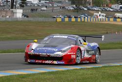 #28 Sport Garage Ferrari 458 Italia: Gilles Duqueine, Laurent Groppi
