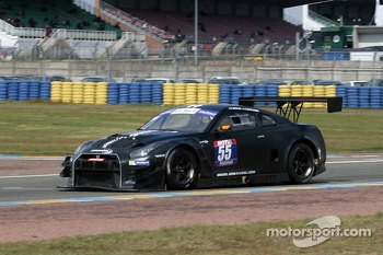 #55 JMB Racing Nissan GT-R: Nicolas Misslin, Alex Buncombe