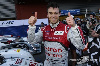Race winner Andre Lotterer