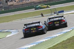 Mattias Ekström, Audi Sport Team Abt Sportsline, Audi A5 DTM and Timo Scheider, Audi Sport Team ABT Sportsline Audi A5 DTM