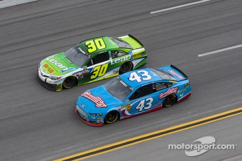David Stremme and Aric Almirola