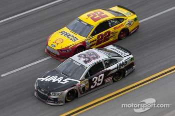 Ryan Newman and Joey Logano