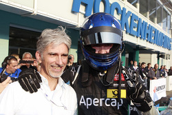 Damon Hill with his son Josh Hill