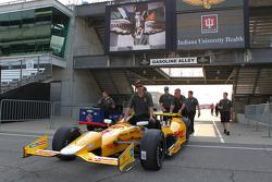 Andretti Autosport team members