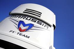 Marussia F1 Team truck