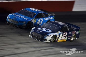 Brad Keselowski and Aric Almirola