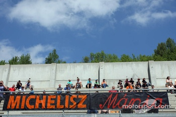 Fans of Norbert Michelisz, Honda Civic, Zengo Motorsport