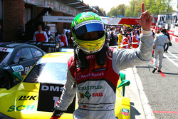 Race winner Mike Rockenfeller, Audi Sport Team Phoenix Audi RS 5 DTM