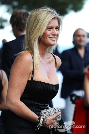 Rachel Hunter, at the Amber Lounge Fashion Show