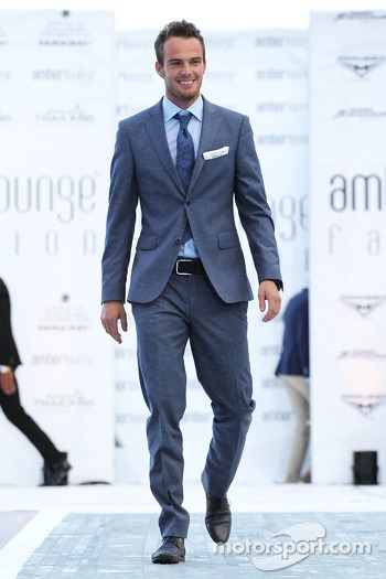 Giedo van der Garde, Caterham F1 Team at the Amber Lounge Fashion Show