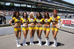 The Indiana Pacers cheerleaders