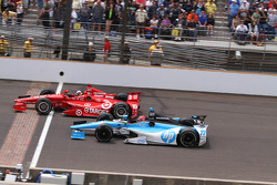 Dario Franchitti and Simon Pagenaud