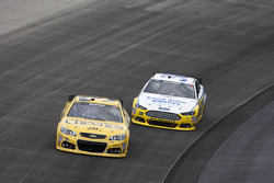 Jeff Burton and David Gilliland