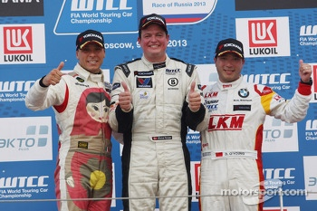 Yokohama Trophy, 1st position Michel Nykjaer, BMW E90 320 TC, ROAL Motorsport