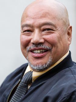 Pontlieue hairpin recreation event: Yojiro Terada