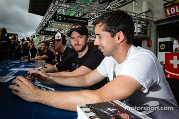 Nick Heidfeld and Neel Jani