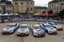 Aston Martin Racing Aston Martin Vantage GTE cars