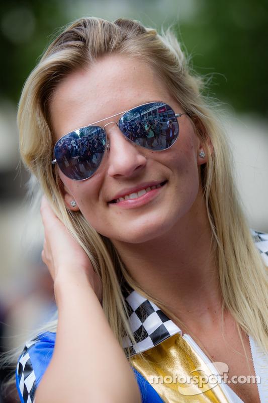A charming Lotus Praga girl