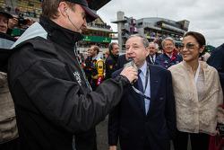 FIA President Jean Todt and wife Michelle Yeoh