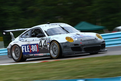 #44 Magnus Racing Flex Box Porsche GT3:  John Potter, Andy Lally, Richard Lietz