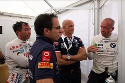 Tom Coronel, BMW E90 320 TC, ROAL Motorsport  and Darryl O'Young, BMW E90 320 TC, ROAL Motorsport