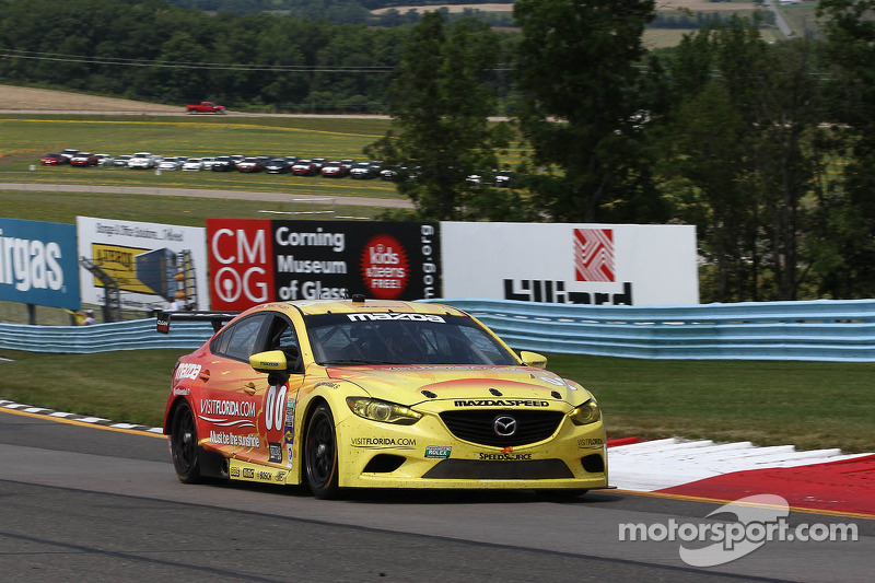 #00 Visit Florida Racing Speedsource Yellow Dragon Mazda6 GX: Joel Miller, Tristan Nunez, Yojiro Terada
