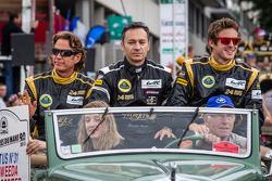 Kevin Weeda, Christophe Bouchut, James Rossiter