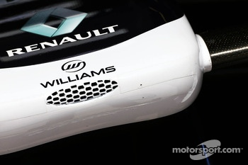 Williams FW35 nosecone