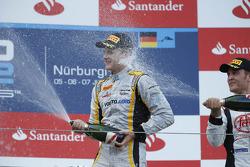 Podium: race winner Marcus Ericsson