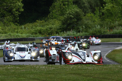 Start: #6 Muscle Milk Pickett Racing HPD ARX-03a: Klaus Graf, Lucas Luhr leads