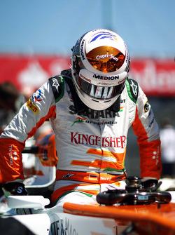 Adrian Sutil, Sahara Force India VJM06 on the grid