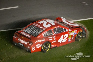 Juan Pablo Montoya, Earnhardt Ganassi Racing Chevrolet crashes