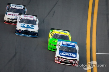 Austin Dillon, Kurt Busch, Sam Hornish Jr. and Joey Logano