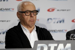 Pressekonferenz zu den DTM-Regeln 2017 mit GRAND AM, Super GT, und Hans Werner Aufrecht, ITR-Chef