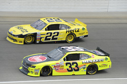 Joey Logano and Matt Crafton