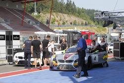 #4 Marc VDS Racing Team BMW Z4: Markus Palttala, Henri Moser, Nicky Catsburg, BMW Z4