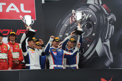 Pro-Am podium: second place Kiriil Ladygin, Viktor Shaitar, Luca Persiani, Mika Salo