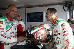 Tiago Monteiro, Honda Civic Super 2000 TC, Honda Racing Team Jas and Gabriele Tarquini, Honda Civic, Honda Racing Team J.A.S.