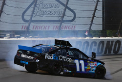 Trouble for Denny Hamlin, Joe Gibbs Racing Toyota