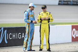 Aric Almirola and Matt Kenseth