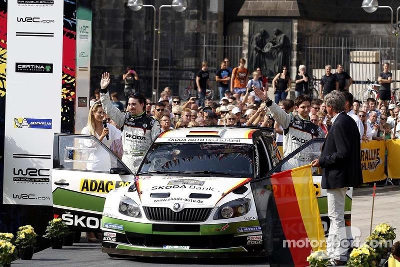 Sepp Wiegand, F. Christian, Skoda Fabia S2000 #23, Skoda Auto Deutschland