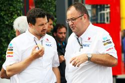 Tom McCullough, Sauber F1 Team Head of Track Engineering