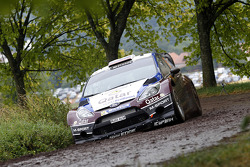 Evgeny Novikov, Ilka Minor, Ford Fiesta WRC #5 Qatar M-Sport World Rally Team