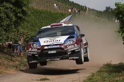Evgeny Novikov, Ilka Minor, Ford Fiesta WRC #5 Qatar M-Sport WRT
