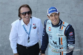 Emerson Fittipaldi, and Bruno Senna, Aston Martin