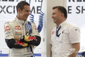 Julien Ingrassia and Jost Capito, Volkswagen Motorsport