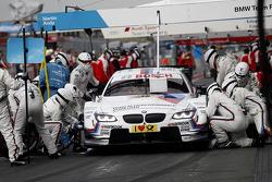 Pit stop Martin Tomczyk, BMW Team RMG BMW M3 DTM