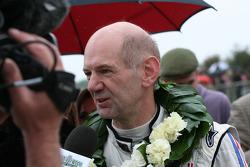 Whitsun Trophy, Ford GT40 race winner Adian Newey