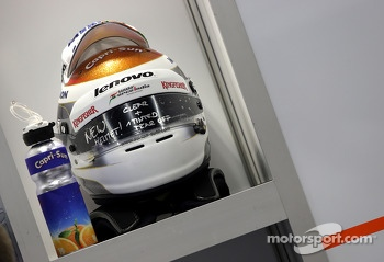 Helmet of Adrian Sutil, Sahara Force India F1 Team