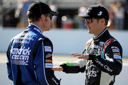 Dale Earnhardt Jr. and Kasey Kahne
